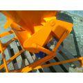 Bádia na betón typ 1016L - gumový rukáv a pákový mechanizmus